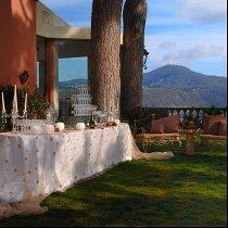 Allestimento di matrimonio colorato curato da Masolino Creative Banqueting