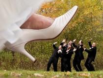 Sposa isterica per l'organizzazione del matrimonio