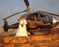 Elicottero per il matrimonio