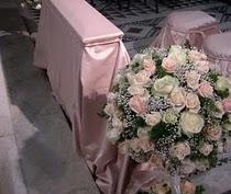 Addobbo floreale per il matrimonio a tema fiaba realizzato da Debraflower