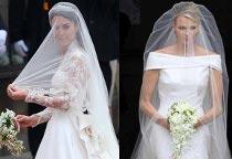 Bomboniera Matrimonio William E Kate.Matrimoni Reali Kate E Charlene A Confronto Lemienozze It