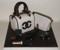Torta nuziale Chanel realizzata da Torte d'Autore