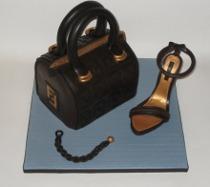 Wedding cake Fendi creata da Torte d'Autore