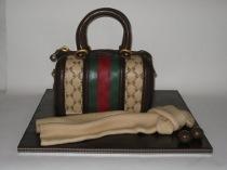 Torta nuziale Gucci realizzata da Torte d'Autore