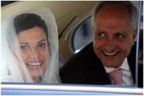 Foto della sposa con il padre di Video Studio Roberto Marchionne