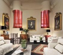 Sala per le nozze con quadri e opere d'arte antiche - Residenza di Ripetta a Roma