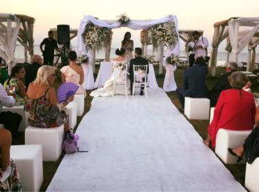 matrimonio spiaggia cerimonia