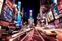 New York City di notte per una luna di miele alla moda