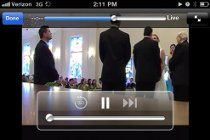 Matrimonio in streaming sul web