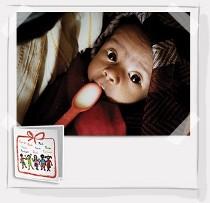 Cartolina salva-vita latte terapeurico - Save the Children