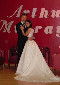 Sposi presso la Scuola di ballo