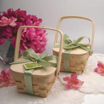 Cestini per il picnic di matrimonio
