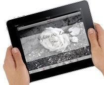 iPad con applicazione My Event scaricata da iTunes