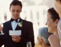 Il discorso dello sposo al matrimonio