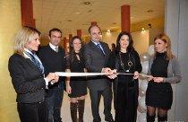 Momento dell'inaugurazione di Sposi del Nuovo Millennio 2010