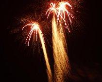 Candele romane da utilizzare durante i fuochi d'artificio al matrimonio