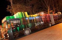 Autobus per le vie della città