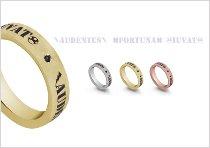 Fedi per il matrimonio con diamante nero e incisione - TVB Forever by Artlinea