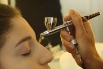 Trucco sposa professionale con l'aerografo realizzato da Wedding Makeup Studio