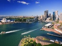 Visita alla Baia di Sydney durante il viaggio di nozze