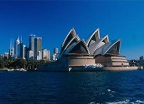 Visita della città di Sydney durante il viaggio di nozze