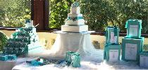 Tiffany Style per il tavolo dei dolci