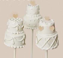 Wedding cake pops - dolcetti allo stecco