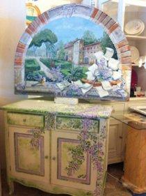 Tableau e tavolo confettata realizzato da Decoration 2000