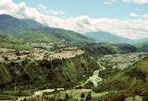 Vista panoramica del sito della città di Merida