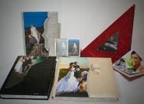Esempi di album di nozze disponibili da Photostudio DM