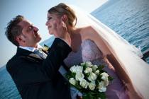 Servizio fotografico di matrimonio al mare realizzato da Photostudio DM