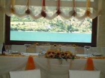Vista sul lago dalla sala per il ricevimento - Lavillotti Eventi