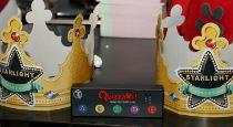 Corone per i vincitori di Quizzami proposto da Starlight Animazione