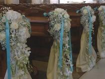 Addobbi Floreali Matrimonio Azzurro : Blu tiffany: come allestire un matrimonio elegante lemienozze.it