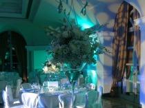 Illuminazione soffusa sui toni del blu Tiffany by La Rosa Bianca