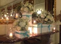Addobbi floreali stile Tiffany by La Rosa Bianca