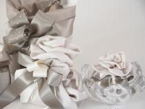 Bomboniere argento con foulard di seta by VP Palmieri