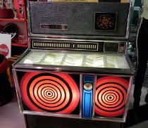 Juke Box anni '70 per la lista di nozze by Design Vintage