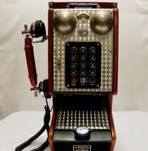 Telefono a muro per la lista nozze by Design Vintage
