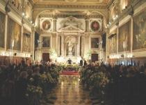 Celebrazione del matrimonio religioso in Chiesa
