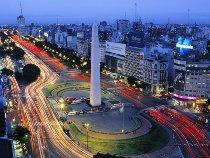 Avenida 9 de Julio a Buenos Aires