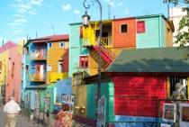 Quartiere La Boca a Buenos Airesi