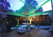 Illuminazione moderna per il gazebo