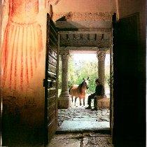 Entrata della Chiesa preromanica di Santa Pudenziana di Visciano