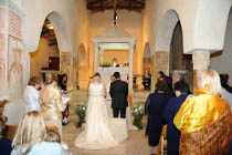 Cerimonia di nozze nella Chiesa interna