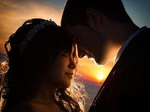 Foto romantica degli sposi - Photograficom di Matteo Schiavo