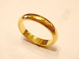 Fede nuziale classica in oro giallo - Micri Gioielli