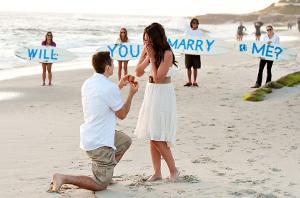Proposta di matrimonio originale