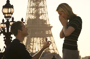 Proposta di matrimonio romantica