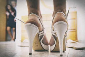 Tacchi alti per la sposa - Foto di Giarcinto Sirbo Photographer